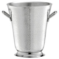 Tablecraft RWB119 Remington Round Double Wall Stainless Steel Bucket with Handles - 9 inch x 10 inch