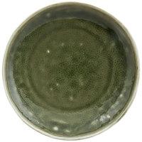 Front of the House DAP076GRP23 Kiln 6 inch Leek Porcelain Plate - 12/Case