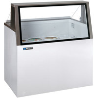 Master-Bilt DD-46L 48 inch Low Glass Ice Cream Dipping Cabinet