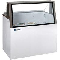 Master-Bilt DD-46L 48 inch Low Glass Ice Cream Dipping Cabinet