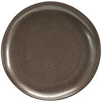 Front of the House DAP076ESP23 Kiln 6 inch Mocha Porcelain Plate - 12/Case
