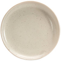 Front of the House DAP076MUP23 Kiln 6 inch Mushroom Porcelain Plate - 12/Case