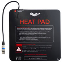 Vollrath VAC1212 Black Power Cord Delivery Bag Heating Pad - 12 inch x 12 inch