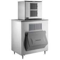 Scotsman C0830MA-32 Prodigy Plus Series 30 inch Air Cooled Medium Cube Ice Machine with Ice Storage Bin - 905 lb.