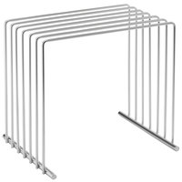 Vollrath 52100 6-Board Stainless Steel Cutting Board Storage Rack