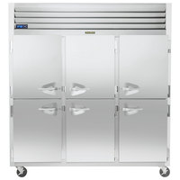 Traulsen G31000-032 76 1/4 inch G Series Half Door Reach-In Freezer with Left / Right / Right Hinged Doors