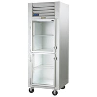 Traulsen G11001-032 30 inch G Series Glass Half Door Reach-In Refrigerator with Left Hinged Doors