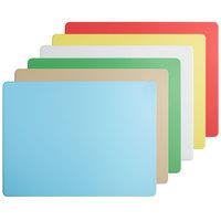 Vollrath 5200311 Color-Coded 24 inch x 18 inch x 1/2 inch 6-Board Cutting Board System