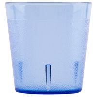Cambro 900P401 Colorware 9.7 oz. Slate Blue Customizable Plastic Tumbler - 72/Case
