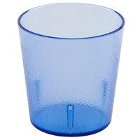 Cambro 900P401 Colorware 9.7 oz. Slate Blue Customizable SAN Plastic Tumbler - 72/Case