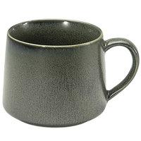 Front of the House DCS046DGP23 Kiln 10 oz. Sage Porcelain Cup - 12/Case