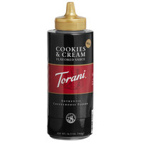 Torani 16.5 oz. Cookies and Cream Flavoring Sauce