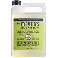 Mrs. Meyer's Clean Day 304832 48 oz. Lemon Verbena Scented Dish Soap Refill - 6/Case