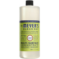 Mrs. Meyer's 663025 Clean Day 32 oz. Lemon Verbena All Purpose Multi-Surface Cleaner Concentrate - 6/Case