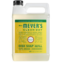 Mrs. Meyer's Clean Day 304834 48 oz. Honeysuckle Scented Dish Soap Refill - 6/Case