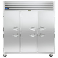 Traulsen G31001-032 76 1/4 inch G Series Half Door Reach-In Freezer with Left / Left / Right Hinged Doors