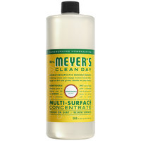 Mrs. Meyer's Clean Day 663123 32 oz. Honeysuckle All Purpose Multi-Surface Cleaner Concentrate - 6/Case