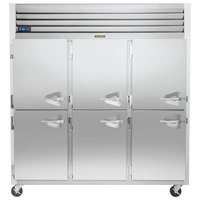 Traulsen G31003-032 76 1/4 inch G Series Half Door Reach-In Freezer with Left Hinged Doors