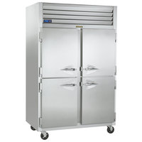 Traulsen G22000-032 52 inch G Series Half Door Reach-In Freezer with Left / Right Hinged Doors