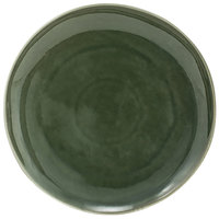 Front of the House DDP061GRP22 Kiln 10 inch Leek Round Porcelain Plate - 6/Case