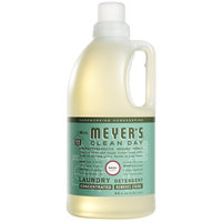 Mrs. Meyer's Clean Day 651374 64 oz. Basil Laundry Detergent - 6/Case