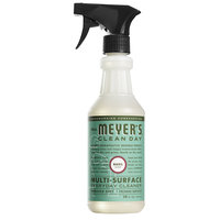 Mrs. Meyer's 663053 Clean Day 16 oz. Basil All Purpose Multi-Surface Cleaner - 6/Case