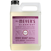 Mrs. Meyer's Clean Day 316568 48 oz. Peony Scented Dish Soap Refill - 6/Case