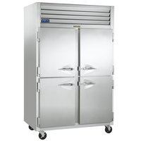 Traulsen G20000-032 52 inch G Series Half Door Reach-In Refrigerator with Left / Right Hinged Doors