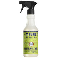 Mrs. Meyer's 663026 Clean Day 16 oz. Lemon Verbena All Purpose Multi-Surface Cleaner - 6/Case