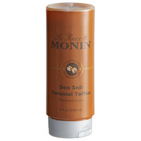 Monin 12 oz. Sea Salt Caramel Toffee Flavoring Sauce