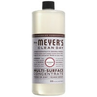 Mrs. Meyer's 663010 Clean Day 32 oz. Lavender All Purpose Multi-Surface Cleaner Concentrate - 6/Case