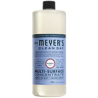 Mrs. Meyer's 663152 Clean Day 32 oz. Bluebell All Purpose Multi-Surface Cleaner Concentrate - 6/Case