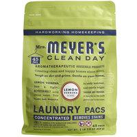 Mrs. Meyer's Clean Day 306113 Lemon Verbena 45-Count Laundry Detergent Pack - 6/Case