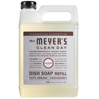 Mrs. Meyer's Clean Day 304831 48 oz. Lavender Scented Dish Soap Refill - 6/Case