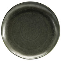 Front of the House DOS029DGP22 Kiln 11 inch Sage Round Porcelain Plate - 6/Case