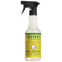 Mrs. Meyer's 663124 Clean Day 16 oz. Honeysuckle All Purpose Multi-Surface Cleaner - 6/Case