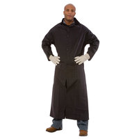 Black 2 Piece Rain Coat 49 inch - Small