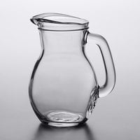 Arcoroc FH998 Bystro 33.75 oz. Glass Pitcher with Pour Lip by Arc Cardinal   - 6/Case