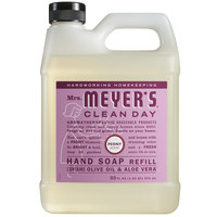 Mrs. Meyer's Clean Day 316564 33 oz. Peony Scented Hand Soap Refill - 6/Case