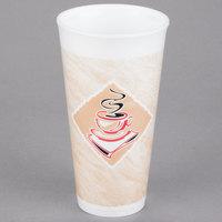 Dart 20X16G ThermoGlaze 20 oz. Cafe G Espresso Foam Cup - 500/Case