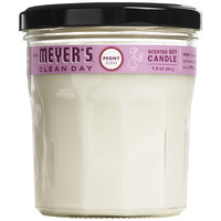Mrs. Meyer's 316563 Clean Day 7.2 oz. Peony Scented Wax Candle - 6/Case
