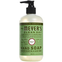 Mrs. Meyer's Clean Day 651384 12.5 oz. Parsley Scented Hand Soap with Pump - 6/Case