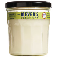 Mrs. Meyer's 651387 Clean Day 7.2 oz. Lemon Verbena Scented Wax Candle - 6/Case
