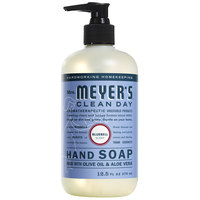 Mrs. Meyer's Clean Day 662048 12.5 oz. Blue Bell Scented Hand Soap with Pump - 6/Case