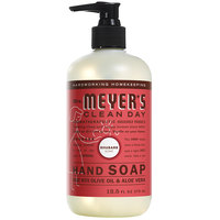 Mrs. Meyer's Clean Day 652199 12.5 oz. Rhubarb Scented Hand Soap with Pump - 6/Case