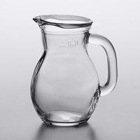Arcoroc FJ001 Bystro 10.25 oz. Glass Pitcher with Pour Lip by Arc Cardinal   - 6/Case