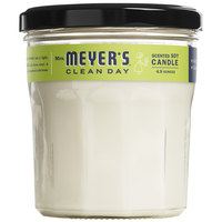 Mrs. Meyer's 663158 Clean Day 4.9 oz. Lemon Verbena Scented Wax Candle - 6/Case