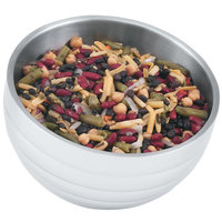 Vollrath 46585 Double Wall Round Angled Beehive 1.9 Qt. Serving Bowl