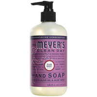 Mrs. Meyer's Clean Day 313582 12.5 oz. Plum Berry Scented Hand Soap with Pump - 6/Case