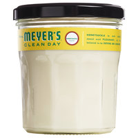 Mrs. Meyer's 692032 Clean Day 4.9 oz. Honeysuckle Scented Wax Candle - 6/Case